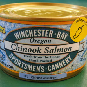 Wild Chinook Salmon with Jalapeno