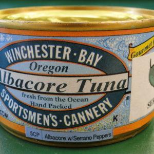Albacore Tuna with Serrano Peppers