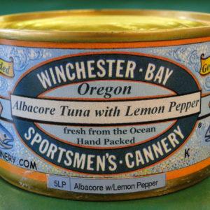Albacore with Lemon Pepper
