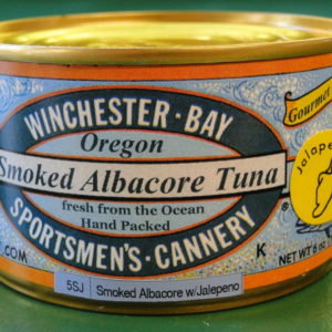 Smoked Albacore w/ Jalapeño – 6 oz can