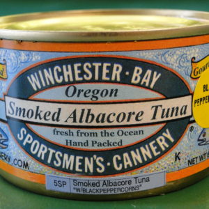 Smoked Albacore w/ Black Peppercorns – 6 oz can