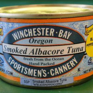 Smoked Albacore w/ Black Peppercorns – 6 oz can
