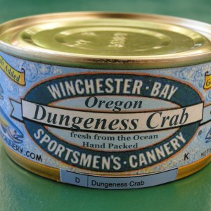 Dungeness Crab (Individual Cans)